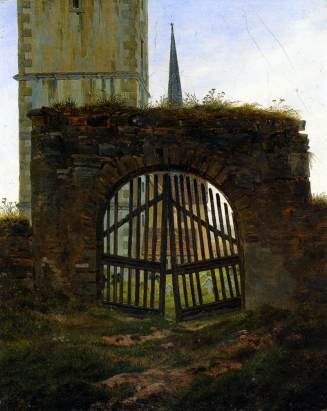 Caspar_David_Friedrich_-_The_Cemetery_Gate_The_Churchyard_-_WGA8276