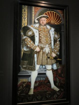 Henri VIII de pied