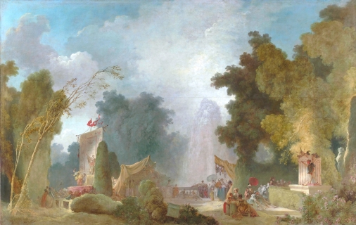 9.Fragonard-La-Fête-à-Saint-Cloud-