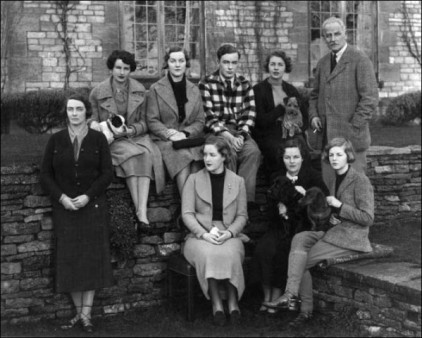 The-Mitford-family-in-1934